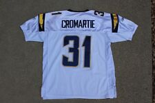 Antonio Cromartie San Diego Chargers Reebok Authentic Embroidered Jersey Sz 52