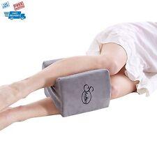 Pillow Back Leg Knee Support Orthopedic Memory Foam Cushion Sleeping Pain Relief