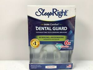SleepRight Dura-Comfort Dental Guard No Boil Adjustable - Storage Case Included