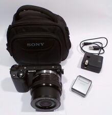 Sony Alpha NEX-5T 16.1MP Digital Camera - Black (Kit w/ E PZ OSS 16-50mm Lens)