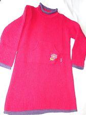 robe rouge O KA OU 10 ans manches longues