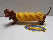 """Hot Diggity """"Bagel Dog"""" Dachund Collectible Figurine by Westland- NIB"""
