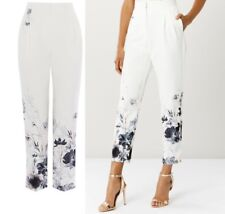COAST AUTUMN BLOOM PRINTED BLOG FAV.  IVORY TROUSER SIZE 6-8-10-12-14-16