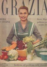 GRAZIA moda fashion 1952 n.570 moda e cucina domestiche