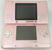 Nintendo DS Original NTR-001 Console with Charger - Pink - Tested Works