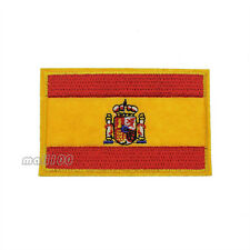 Spain Flag Patch Embroidered Flag Sew or Iron on Patch National Flag Patches