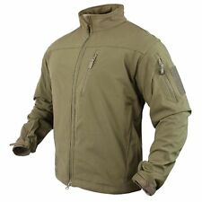 4f66f5227d810 Condor 606-003 Phantom Soft Shell Breathable Waterproof Army Combat Jacket -Tan