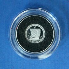 More details for 1991 isle of man 1/20oz platinum proof noble coin in capsule