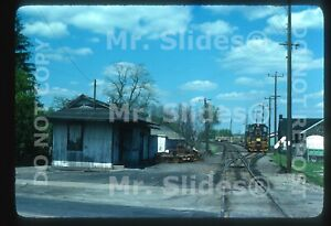 Original Slide Youngstown & Southern North LIma OH Station In 1976