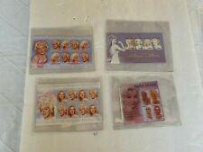 Sierra Leon Stamp(s) ~ Marilyn Monroe ~ COA ~ Circa 2003 ~ 4 Blocks
