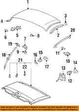 TOYOTA OEM 93-98 Supra Removable Top-Weatherstrip Seal Right 6238314030