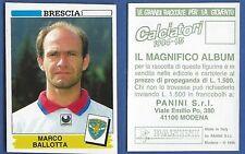 FIGURINA CALCIATORI PANINI 1994/95 - NUOVA/NEW N.23 BALLOTTA - BRESCIA