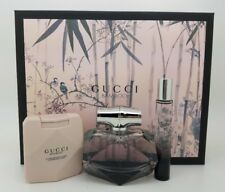Gucci Bamboo GIFT SET 3pcs 2.5 oz EDP + 3.3oz Lotion + 0.25 Oz Pen Fragrance