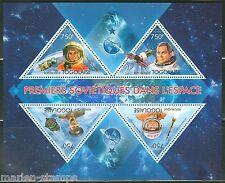 Togo 2013 First Soviets In Space Gagrin Popovich Tereshkova & Titov Sheet Nh