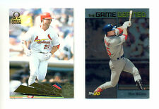 MARK MCGWIRE PAIR OF CARDS FROM 2000 AND 2001