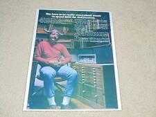 New listing Marantz Model 19 Receiver Ad, 1971, 1 page, Beautiful!
