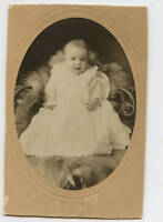 Antique Photo - O'Bleness Family Baby in Gown (Ralph)