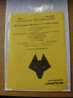 18/12/1991 Wolverhampton Wanderers Reserves v Hull City Reserves  (4 Pages)