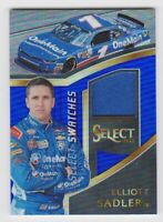 2017 Select Racing Select Swatches Blue #ES Elliott Sadler/199