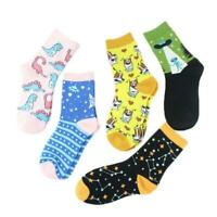 Exquisite Unisex Funny Animal Painting Socks Novelty Starry Retro Cotton Socks