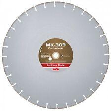 MK-303 156731 24 Inch x .100 Inch x 1 Inch Wet Cutting Diamond Lapidary Blade