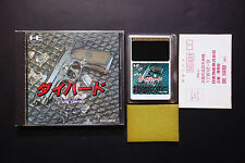DIE HARD + Registration.Card NEC PC Engine HuCARD JAPAN Very.Good.Condition
