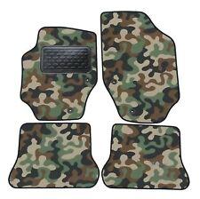 Armee-Tarnungs Autoteppich Autofußmatten Auto-Matten für Peugeot 307 CC ab 2001
