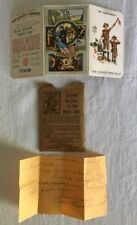 Boy Scouts 1933 Membership Card & Hand Written Note By Scouts Mom BSA Collector