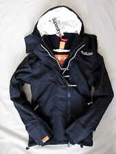 New Superdry Womens Girls jacket coat Arctic Windcheater outdoor Lined Black XXS
