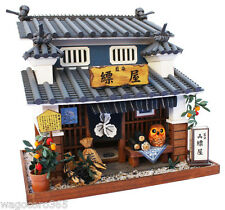 Doll House Miniature Model Kit Figure Handcraft / Japanese Dyeing Shop / Billy