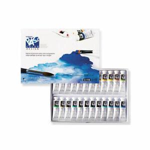 Shinhan PASS Hybrid of Premium Watercolor and Gouache Paint Set 20ml 48 Colors