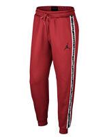 Nike Air Jordan Jumpman Sz M Sweatpants Gym Red / Black Men's AQ2696-687