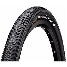"Continental Double Fighter III 27.5 x 2.0"" Black Tyre"