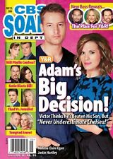 CBS Soaps In Depth Magazine - July 25, 2016 - Justin Hartley Melissa Claire Egan