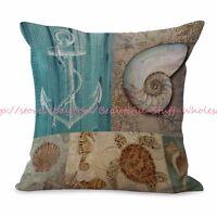 C/&F Home 842981720C Meridian Sea Turtle Pillow Blue