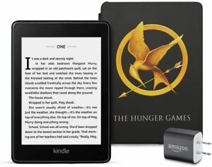 Kindle Paperwhite Bundle including Kindle Paperwhite - Wifi, Ad-Supported, Amazo