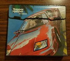 Vintage Mead Trapper Keeper Notebook Ferrari With Inserts