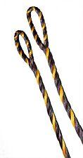 "60"" AMO LENGTH FLEMISH Recurve Bow String BOWSTRING B-50 DACRON Brown Yellow NEW"