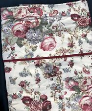 "New Laura Ashley Vintage Victoria Floral Lined Curtains 74"" W 90"" D 186cm 228cm"
