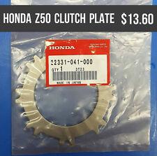 22331-041-000 HONDA CLUTCH PLATE Z50 1982-86 QA5 1971-73 Z50 1971-72 Z50J 1978