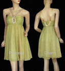 Yellow Cocktail Evening Dress Size 8 10 12 14 16 18 20 NEW