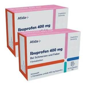 ATIDA+ Ibuprofen 400 mg Filmtabletten · 2x50 St · PZN 08031404