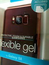 Samsung Galaxy S8 Case it Flexible Gel Case + Free Screen Protector