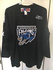 SP AHL Springfield Falcons #44 Evgeny Artyukhin Hockey Jersey Size 58 2XL 3XL