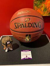 Magic Johnson Signed NBA Basketball Beckett COA Los Angeles Lakers!