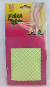 Smiffy's Fishnet Tights Neon Green