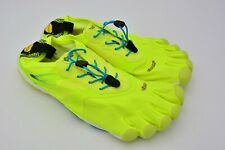 Vibram Men's FiveFingers Bikila Evo Running Shoes Yellow Blue Size EU 43 Used