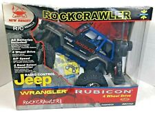 NEW BRIGHT RC JEEP RUBICON ROCK CRAWLER With Remote Complete Free Shipping