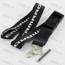 Lanyard Neck Keychain Quick Release strap For Chevrolet Camaro Black RS SS Z28