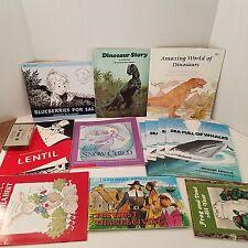 Vtg Childrens Scholastic Books Paperback Troll Trumpet Club Lot of 12 + Cassette